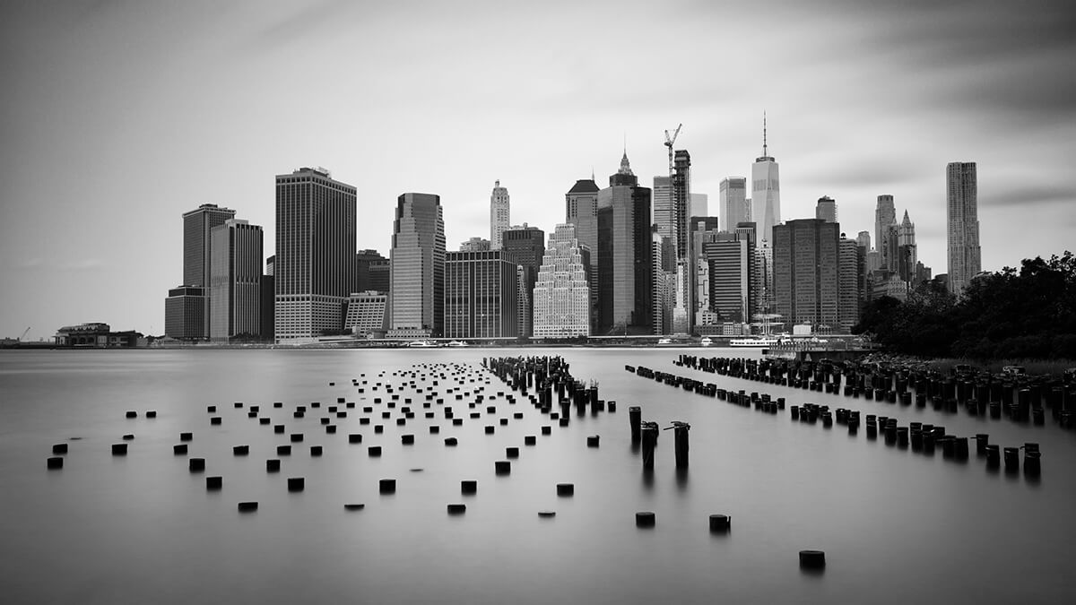 Manhattan Skyline by Joakim Jormelin