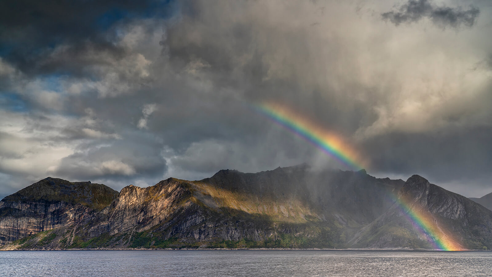 Rainbow over Senja, Joakim Jormelin