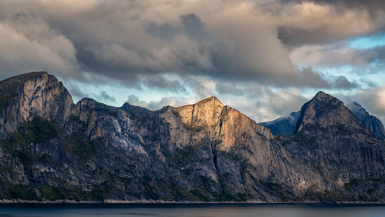 Mountains of Senja, Norway