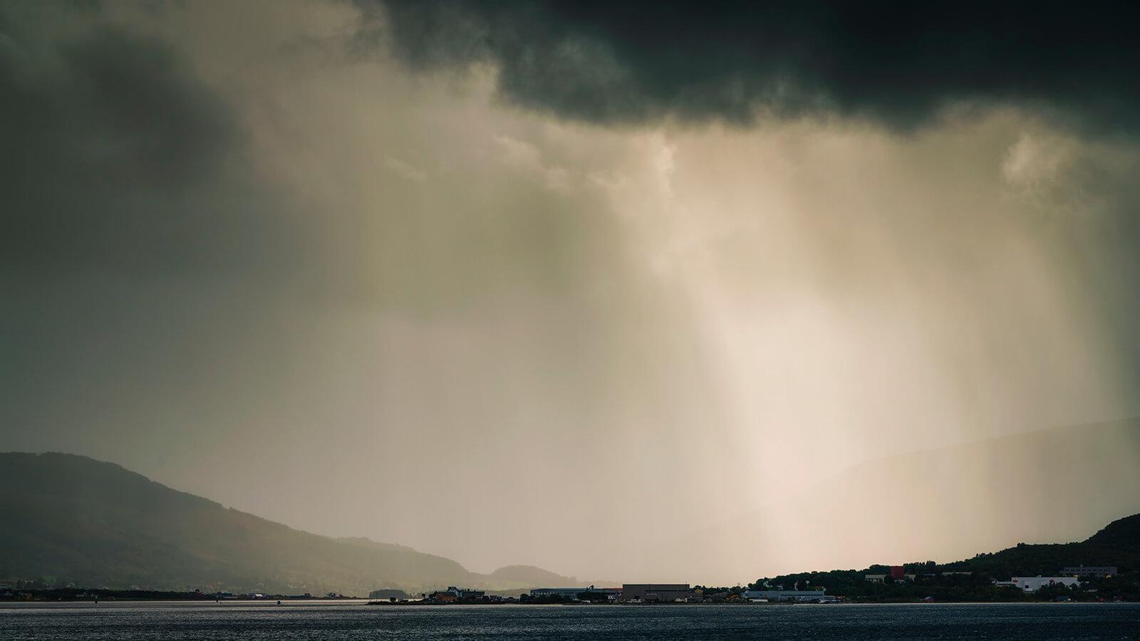 After rain comes sunshine by Joakim Jormelin