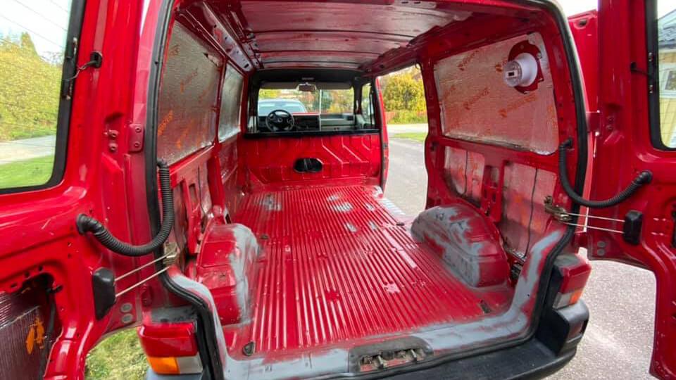 Camper van build 2
