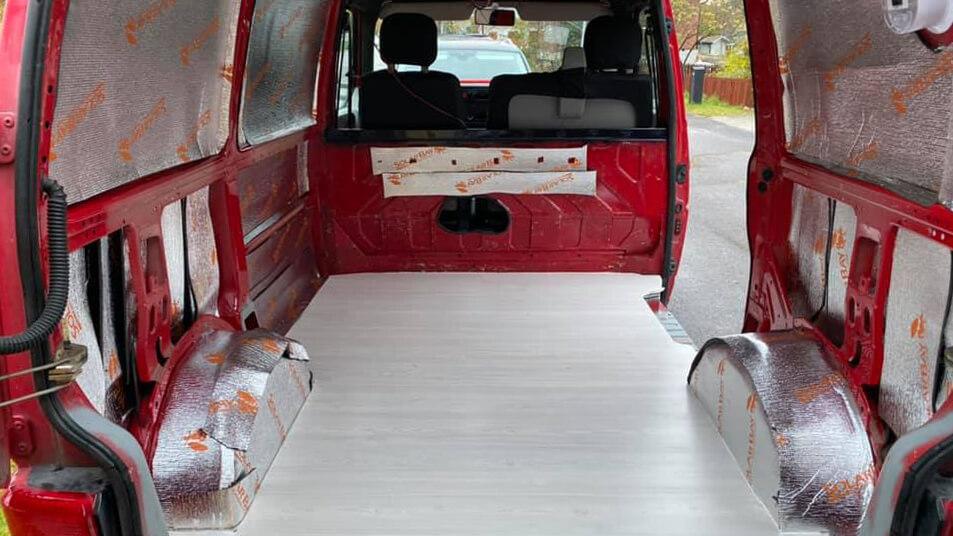 Camper van build 1